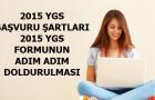 Açık Lise 2015 YGS Formunun doldurulması ve Başvuru Şartları!