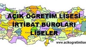 Açık Öğretim Lisesi Diyarbakır İli İrtibat Bürosu Olan Liseler