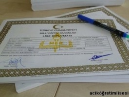 aöl diploma açık lise diploma örneği